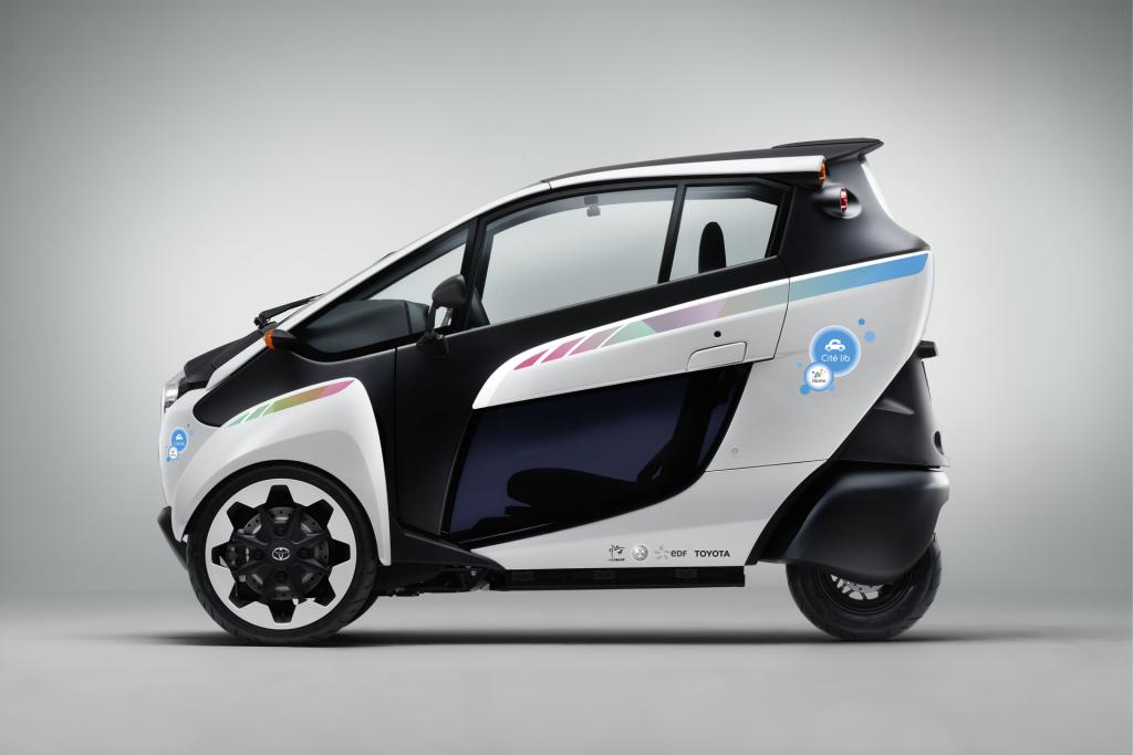 Carsharing - Toyota i-Road